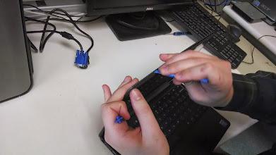 Photo: Dell screen removal