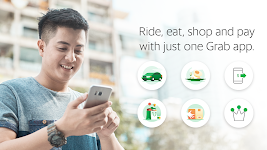 screenshot of Grab - Transport, Food Delivery, Payments
