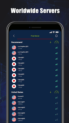 Free VPN SecVPN: Fast Unlimited Secure Proxy 2.0.008-RELEASE screenshots 3