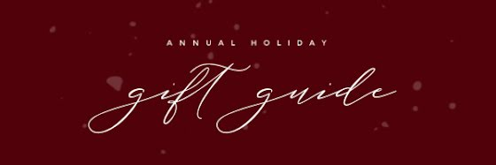 Annual Holiday Gift Guide - Christmas Template