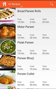 Paneer Recipe Book - náhled