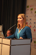 """Photo: """"Communicating Science & Innovations"""" Panel - 2012: Annie Gravier"""