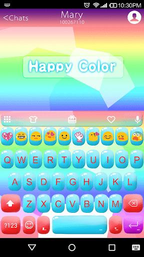Happy Color Emoji Keyboard