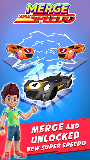Merge Super Speedo - Kicko Car Tycoon apktram screenshots 3