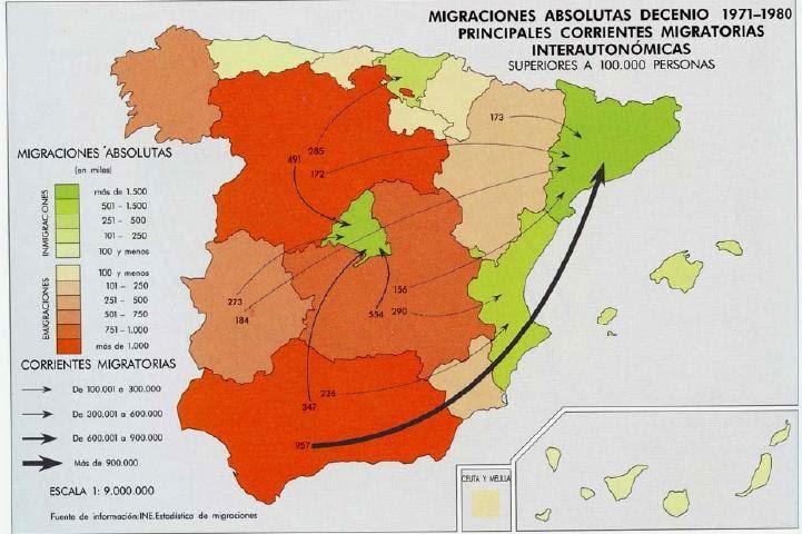 Mapa Tematico De Espana.Mapas Tematicos Tipos Geografia De Espana