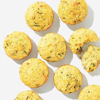Zucchini Cornbread Muffins.