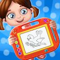 Kids Magic Slate Simulator - Learn To Read & Write icon