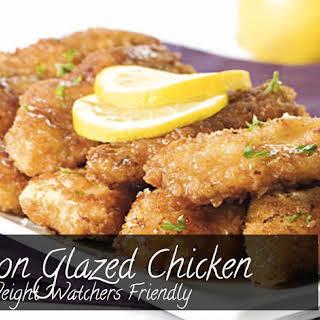 Lemon Glazed Chicken - Weight Watchers.
