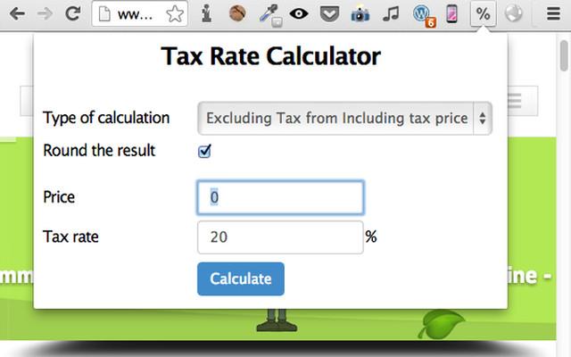 Tax Rate Calculator