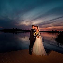 by Oancea Lucian - Wedding Bride & Groom