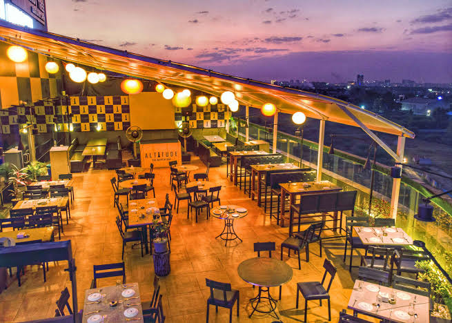 Rooftop Restaurants In Pune Altitude