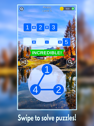 Mathscapes: Best Math Puzzle, Number Problems Game android2mod screenshots 5