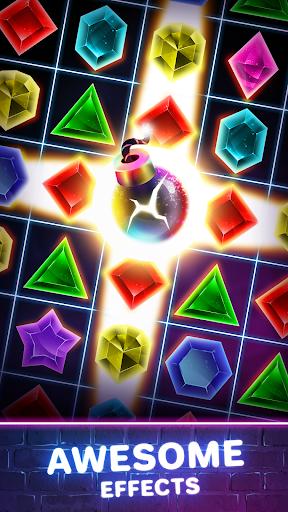 Jewels Quest 2 - Glowing Match 3 1.0.0 screenshots 4