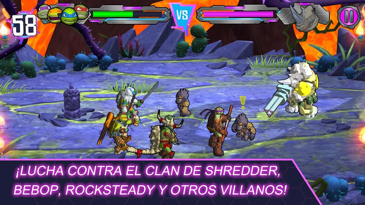 TMNT Las Tortugas Ninja  Aplicaciones de Android en Google Play