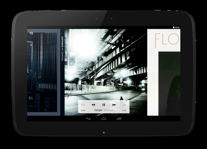 CloudPlayer™ by doubleTwist cloud & offline player Screenshot 9