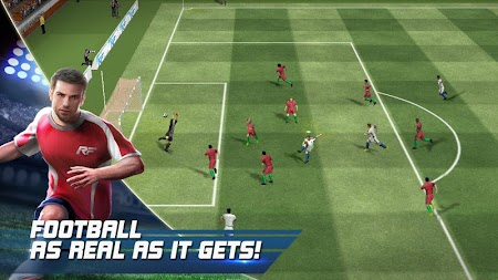 Real Football APK screenshot thumbnail 1