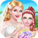 Wedding Salon: Flower Girl SPA Icon