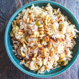 Date & Olive Rice Dish.