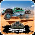 4x4 Offroad Grand Monster Truck Desert Game 2018 icon