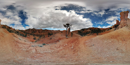 Photo: First #photosphere of the hike. I thought it couldn't get any prettier than this.