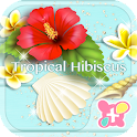 Cute Theme-Tropical Hibiscus- icon