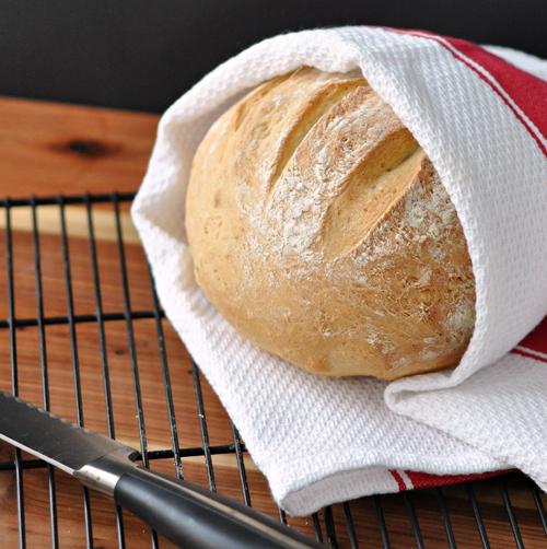 Super Easy Crusty Bread Recipe