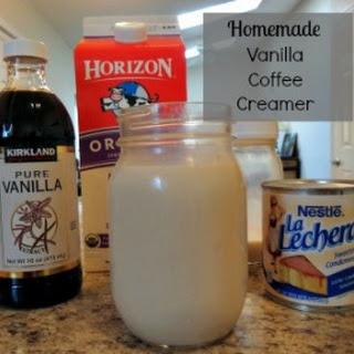 Homemade Vanilla Creamer