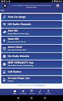 Screenshot of His Radio