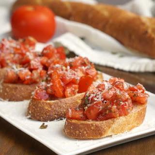 Tomato Basil Bruschetta.