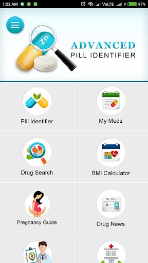 Advanced Pill Identifier & Drug Info screenshot for Android