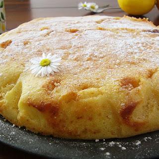 Italian Lemon Ricotta Cake.