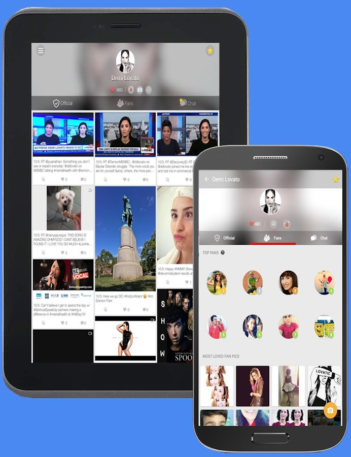MyFvs: Follow Your Favs- screenshot