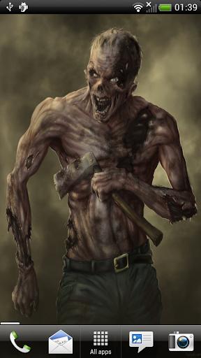 Zombie Horror - Live Wallpaper