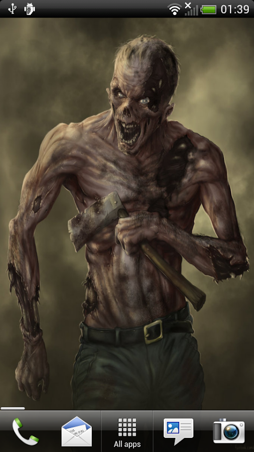 zombie horror live wallpaper android apps on google play