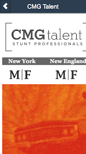 CMG Talent- screenshot thumbnail