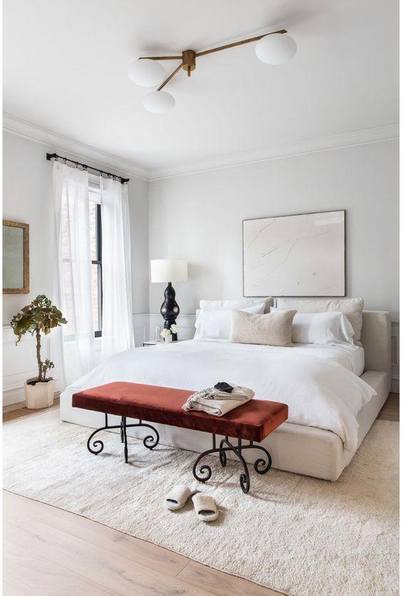 Modern White Bedroom Ideas