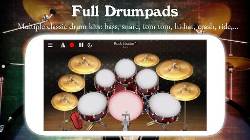 Drum Live: Real drum set drum kit music drum beat 4.1 screenshots 1