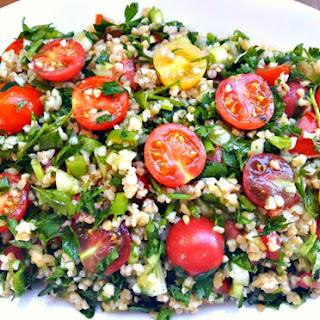 Tasty Tabbouleh Salad.