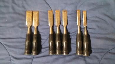 Photo: Wood chisel set