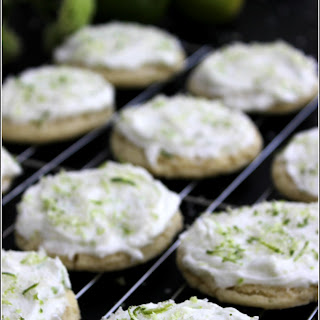 Key Lime Sugar Cookies