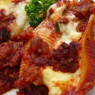 Lasagna Stuffed Shells