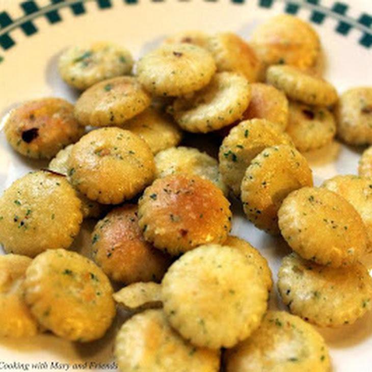 Savory Snack Crackers Recipe