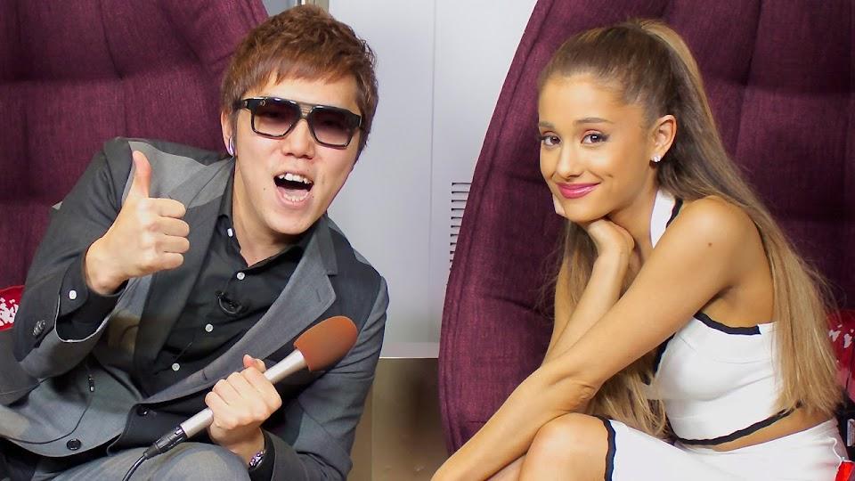 HIKAKIN-And-Ariana-Grande