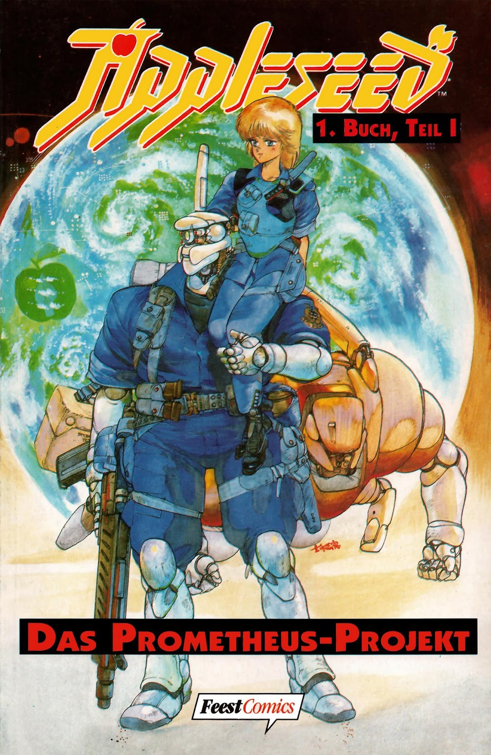 Appleseed (1994) - komplett