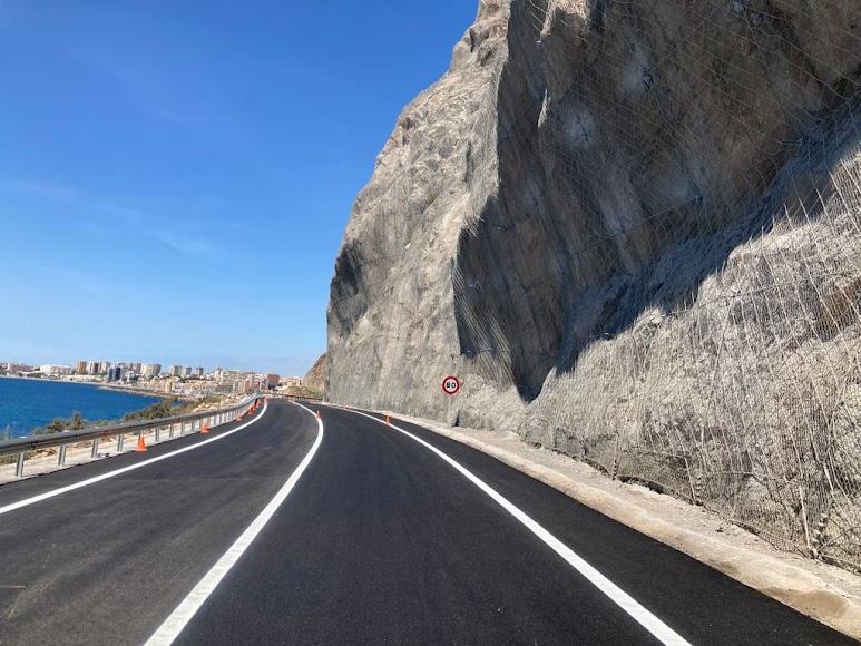 El Cañarete es una carretera muy transitada.
