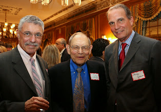 Photo: Max Stern (Stern, Shapiro, Weissberg & Garin), Judge Rudy Kass (the Mediation Group), and Trial Court Administrator Harry Spence.