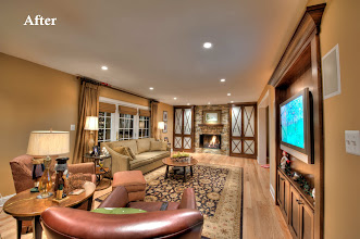 Photo: Family Room Blue Bell, PA Award Winning Project