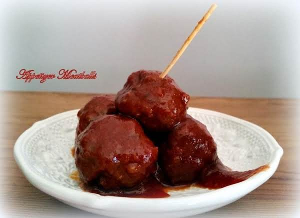 ~appetizer Meatballs ~ Crock Pot