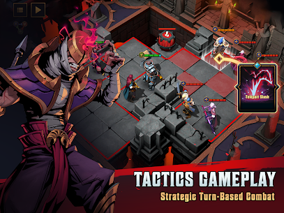 Grimguard Tactics: End of Legends Mod Apk (Unlimited Money) 9