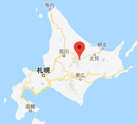 地図:三国峠café